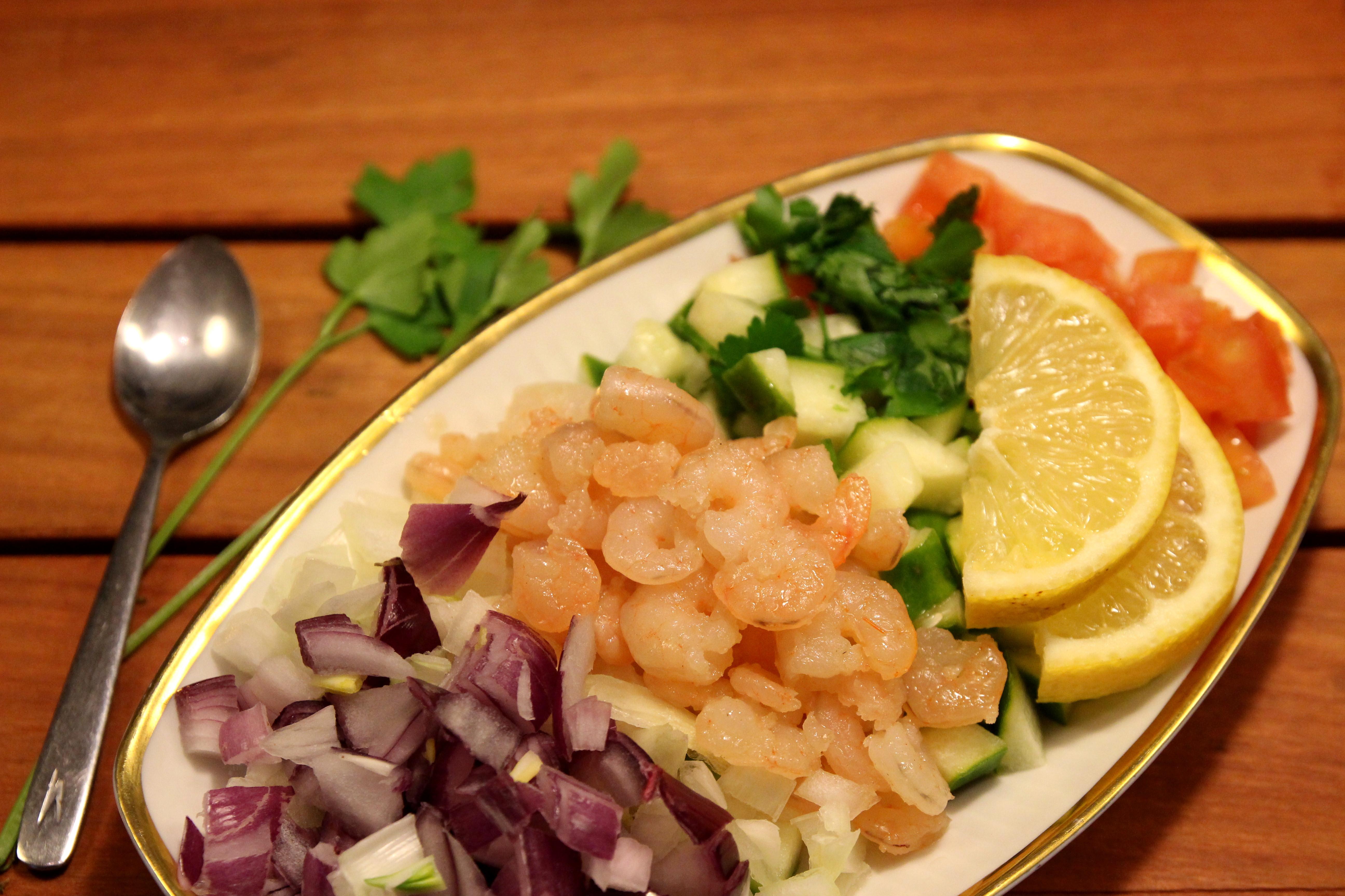 Shrimp & Vegetable Salad11