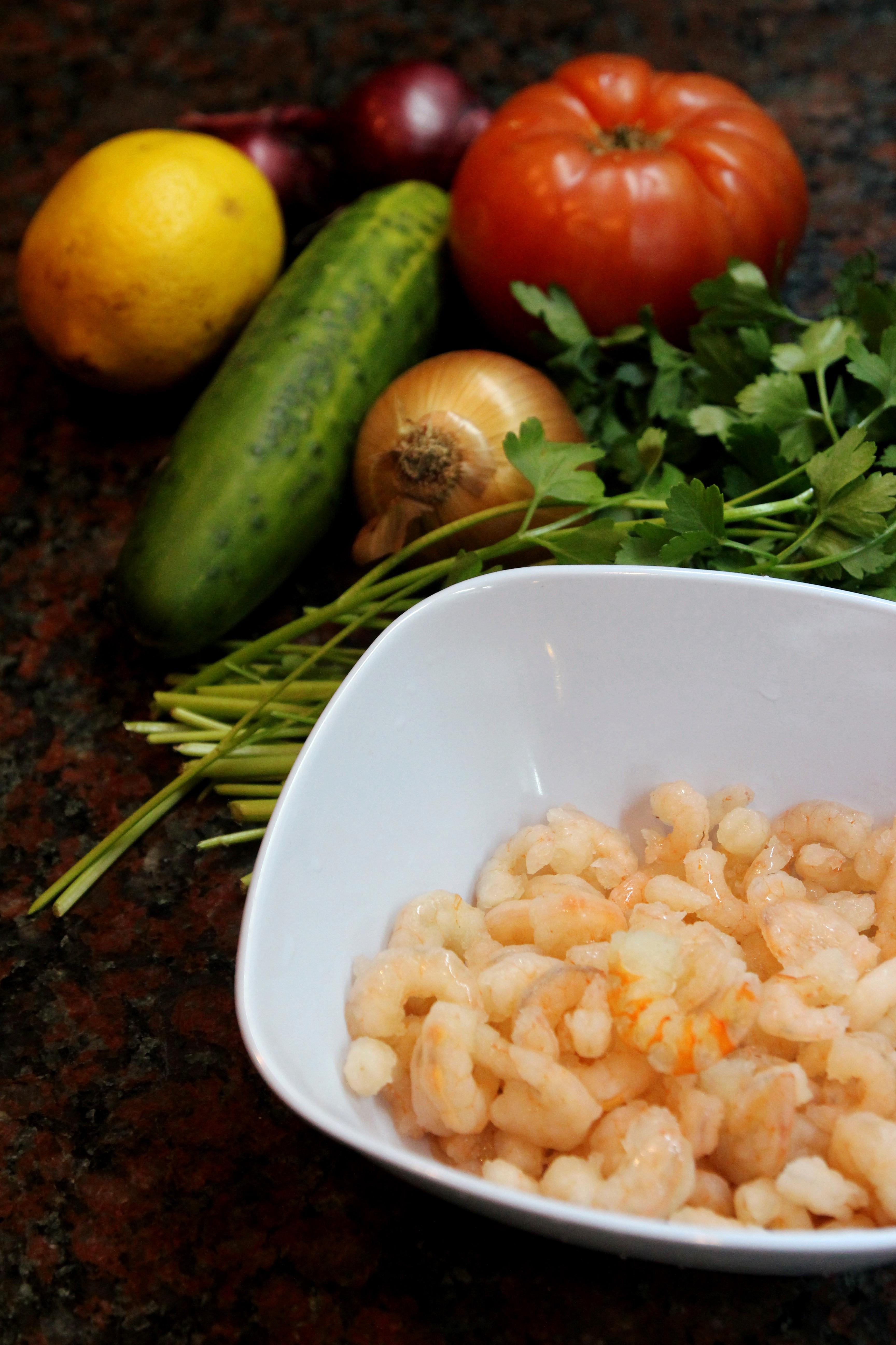 Shrimp & Vegetable Salad