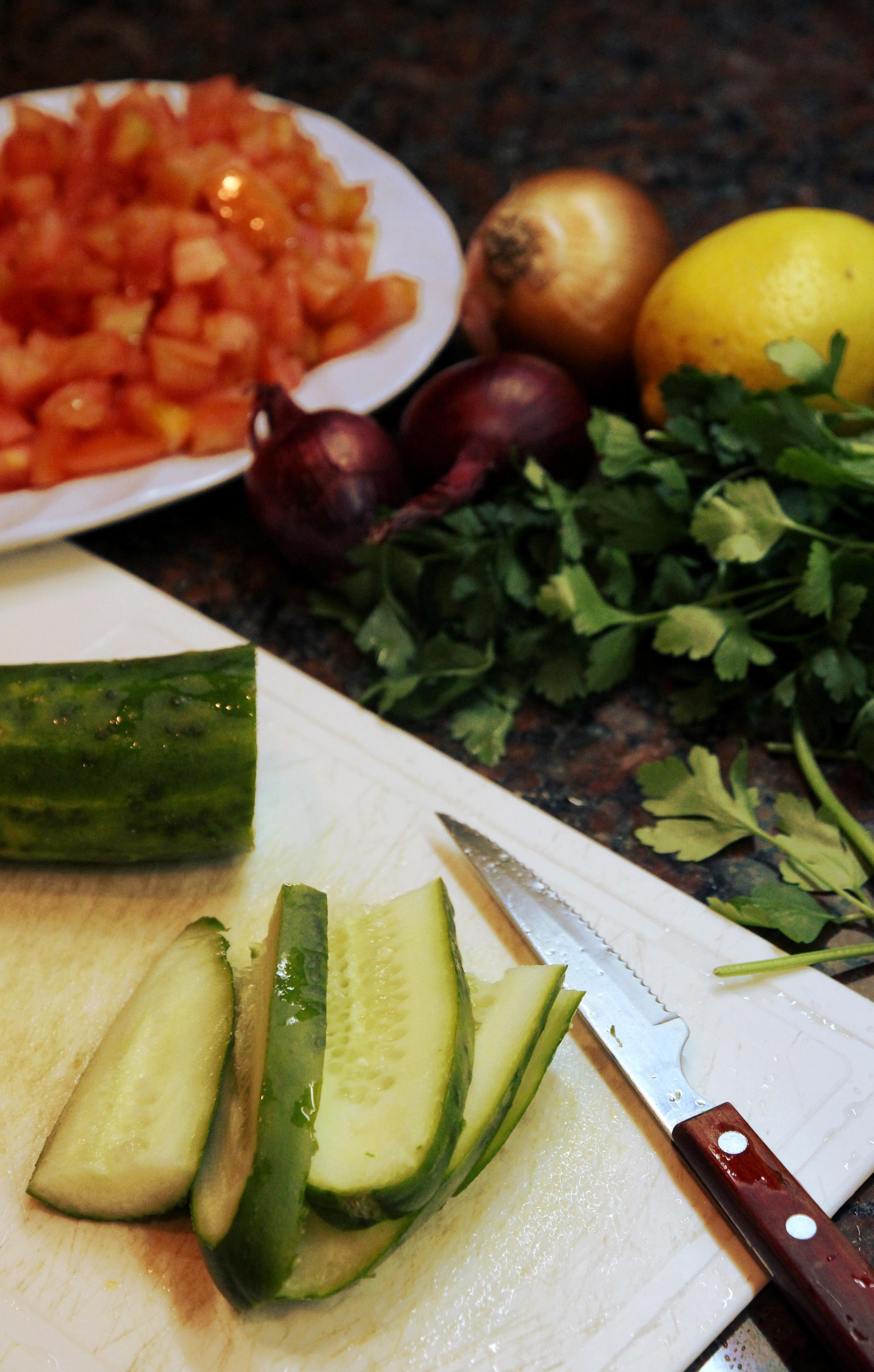 Shrimp & Vegetable Salad3