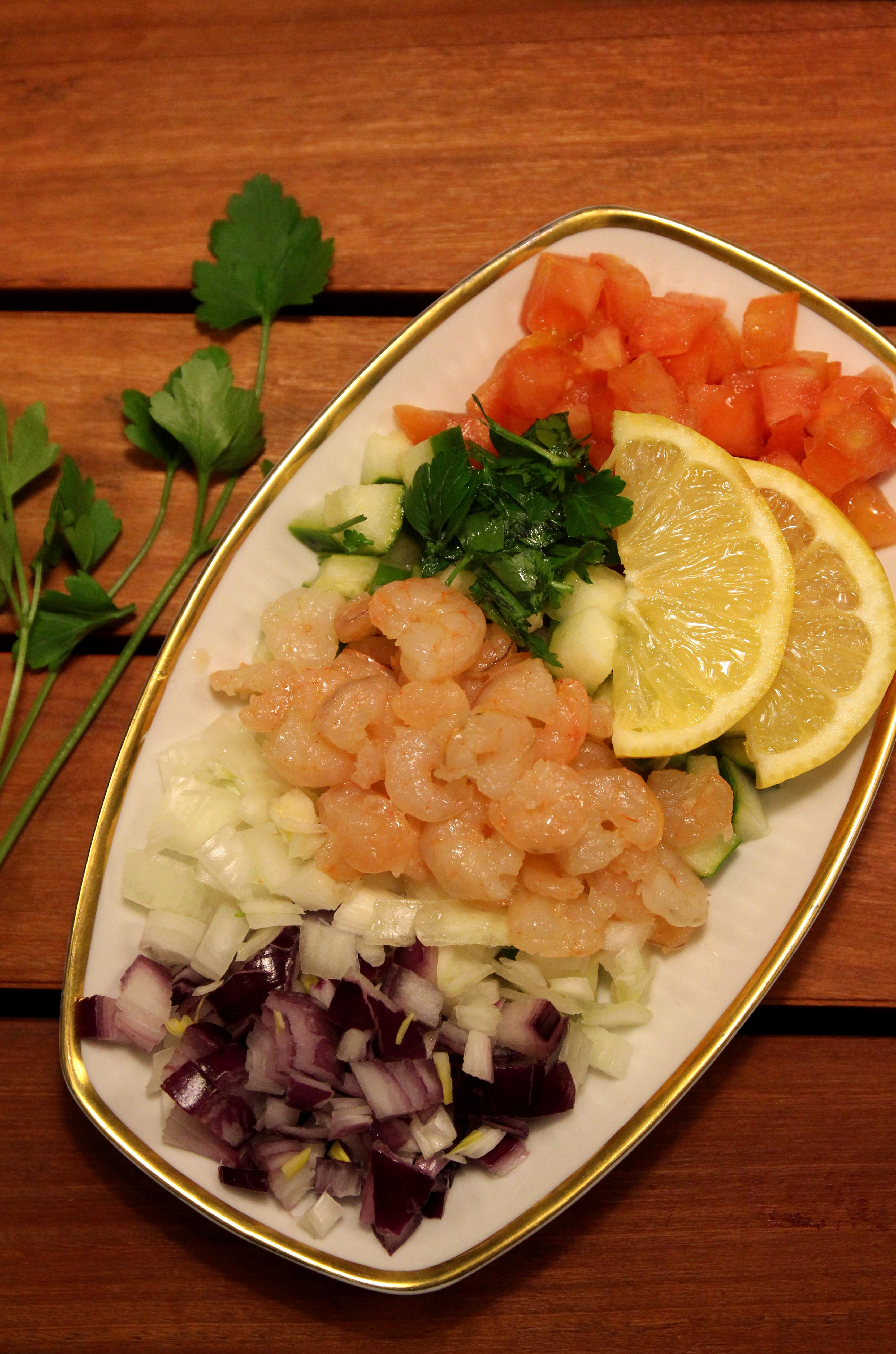 Shrimp & Vegetable Salad5