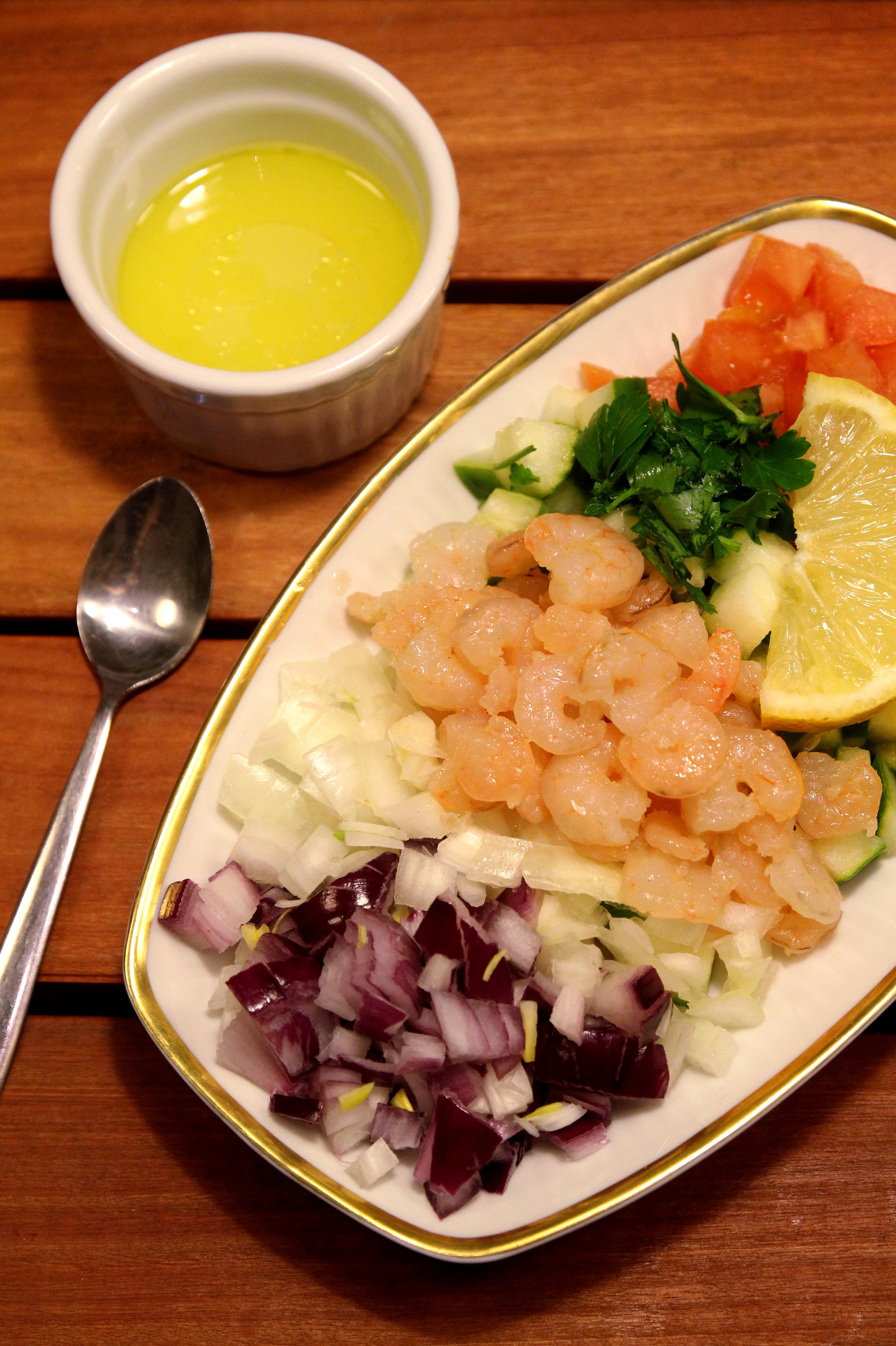 Shrimp & Vegetable Salad6