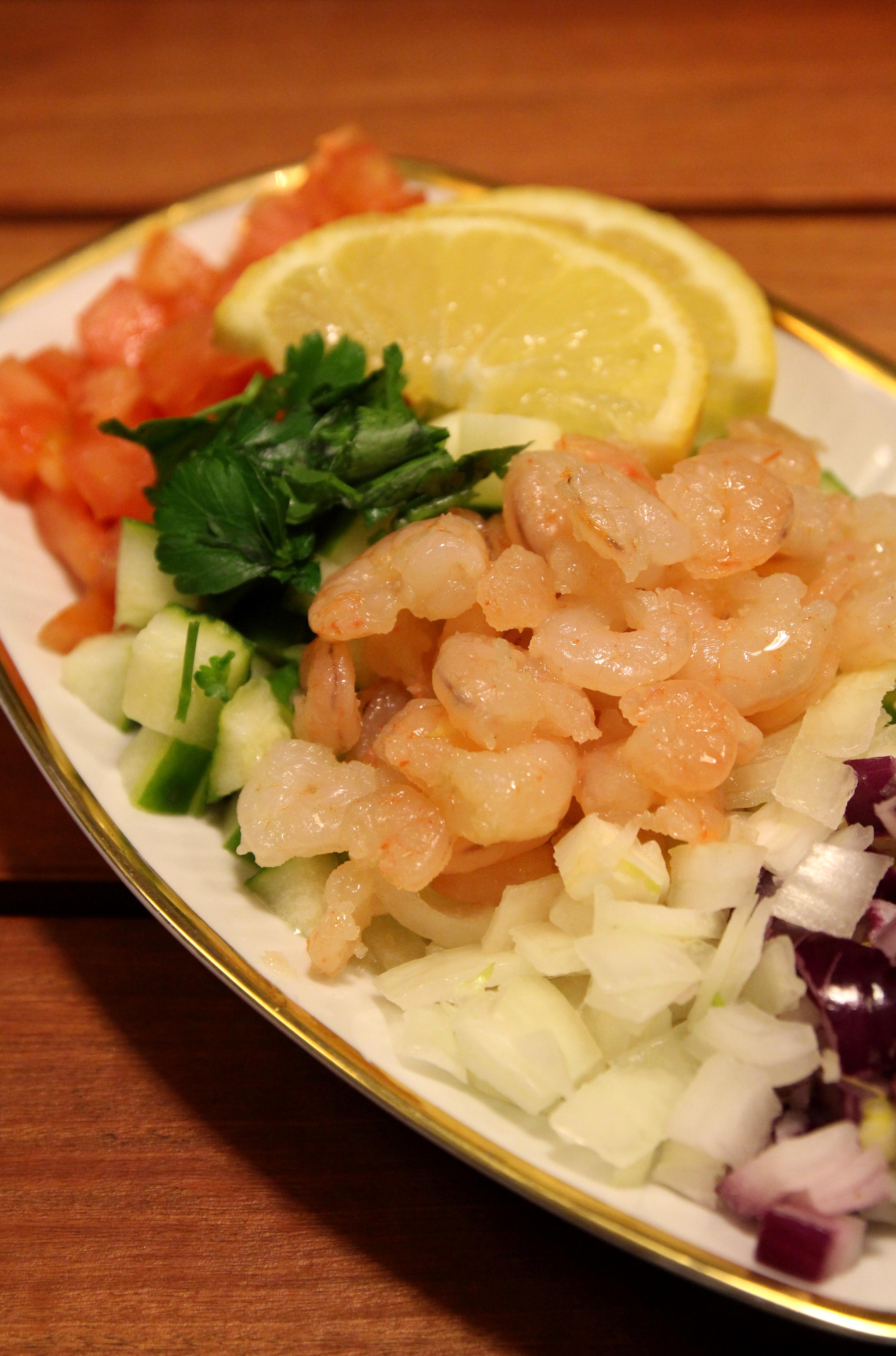 Shrimp & Vegetable Salad7