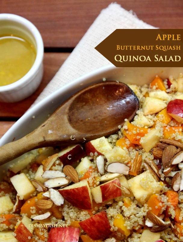 Apple, Butternut Squash & Quinoa Salad