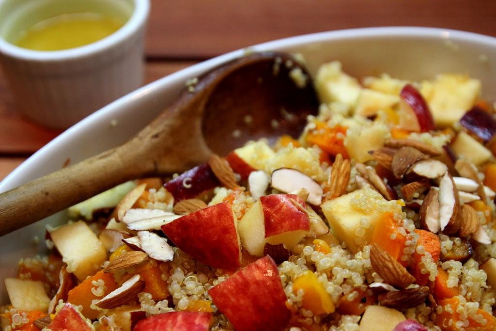 Apple, Butternut Squash and Quinoa Salad12