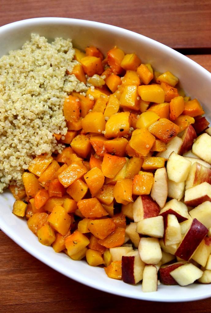 Apple, Butternut Squash and Quinoa Salad8
