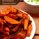 Baked Butternut Squash Fries + Thank You