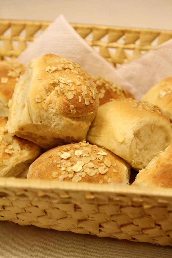 Easy Oat Bread Rolls7