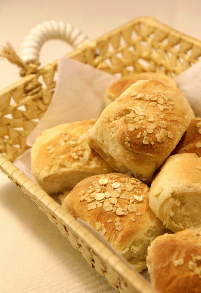 Easy Oat Bread Rolls8