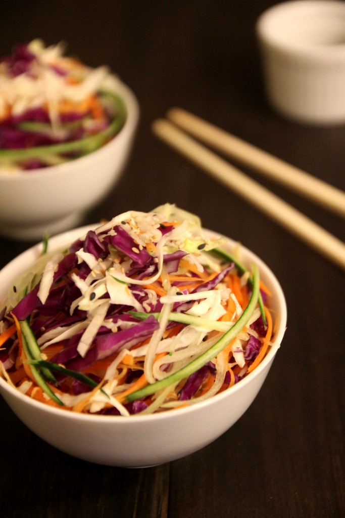 Asian Slaw with Sesame Soy Dressing2