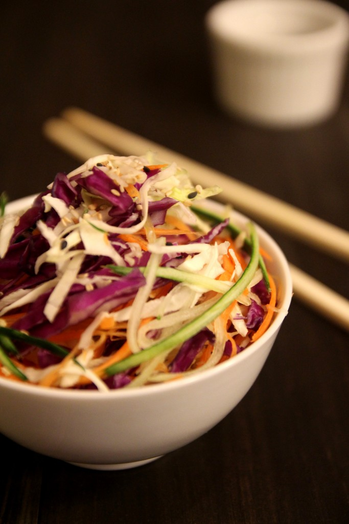 Asian Slaw with Sesame Soy Dressing4