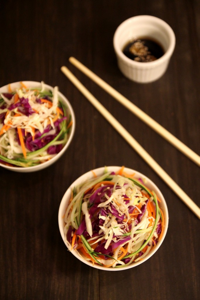 Asian Slaw with Sesame Soy Dressing6