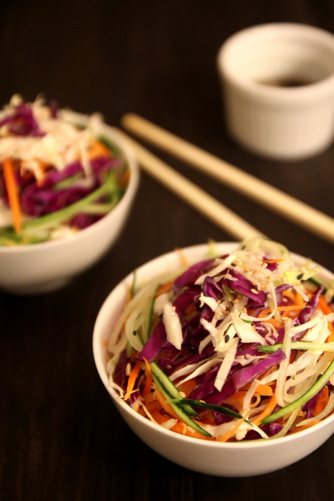 Asian Slaw with Sesame Soy Dressing7