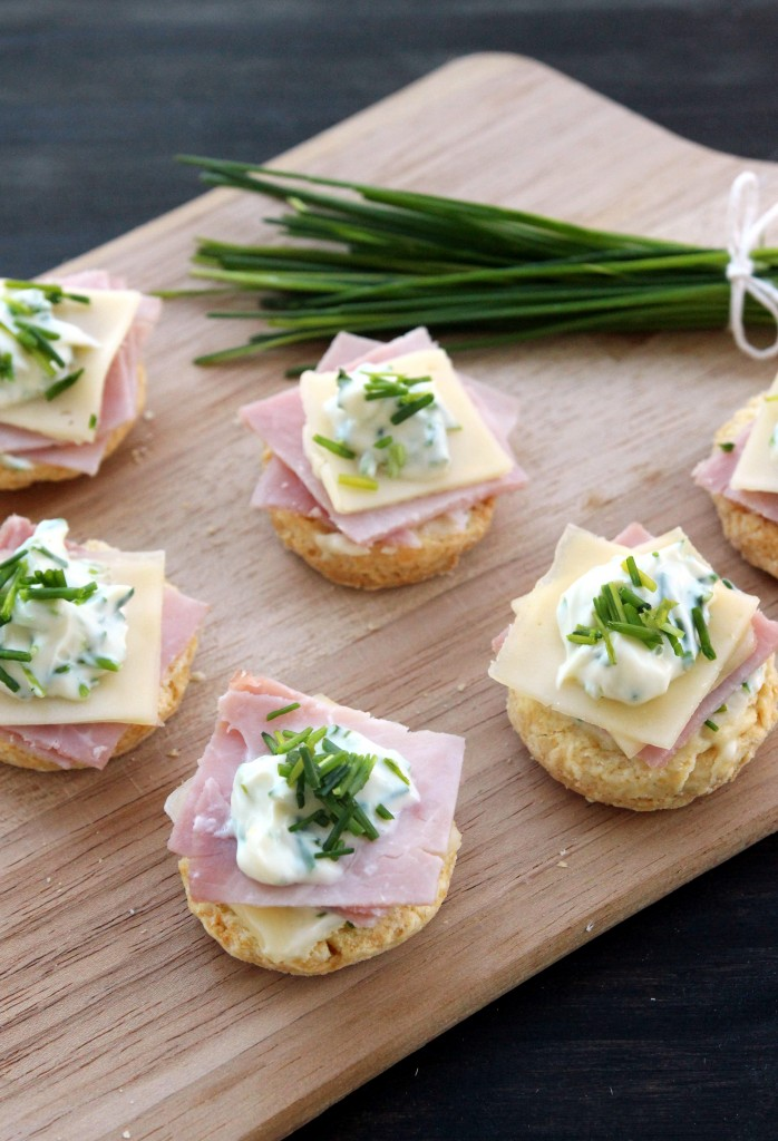 Ham, Cheese & Chives Topped Scones4
