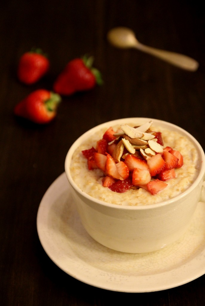 Strawberry Almond Oatmeal5