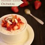 Strawberry Almond Oatmeal