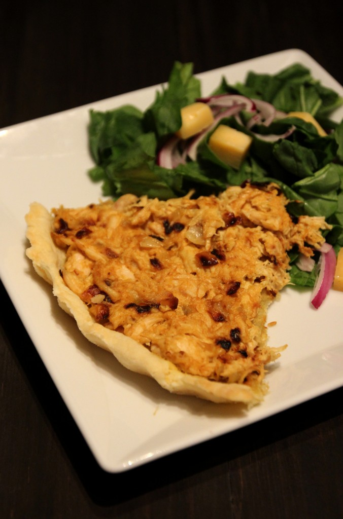 Curried Chicken Tart