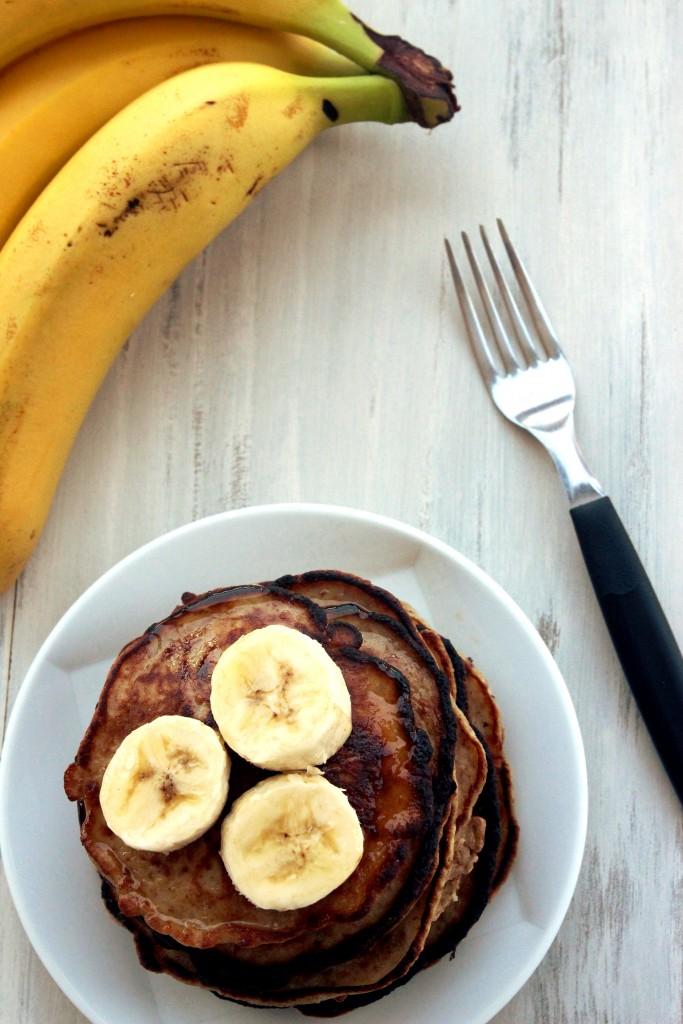 Grain-Free Banana Almond Pancakes3