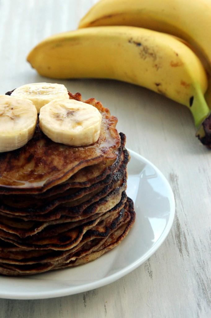 Grain-Free Banana Almond Pancakes7