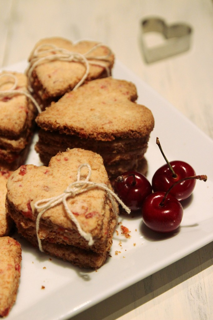 Grain-free Cherry Shortbread Cookies12