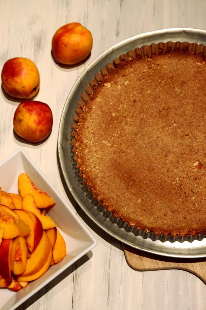 Honey Peach & Ricotta Tart with Almond Crust4