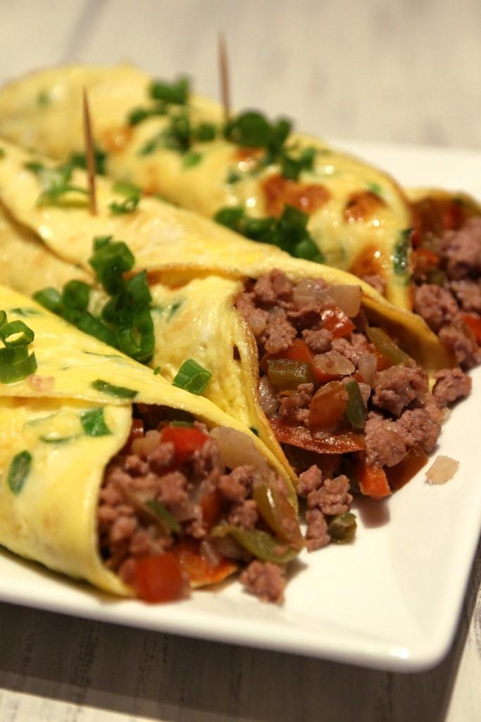 Minced Beef Egg Burritos1