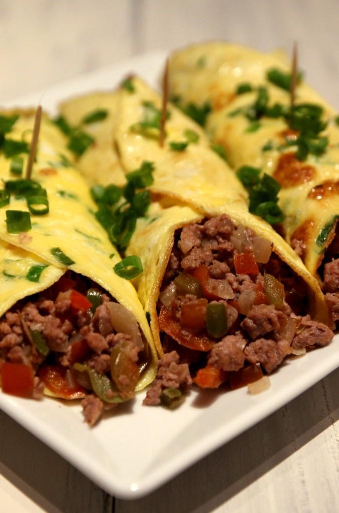 Minced Beef Egg Burritos2