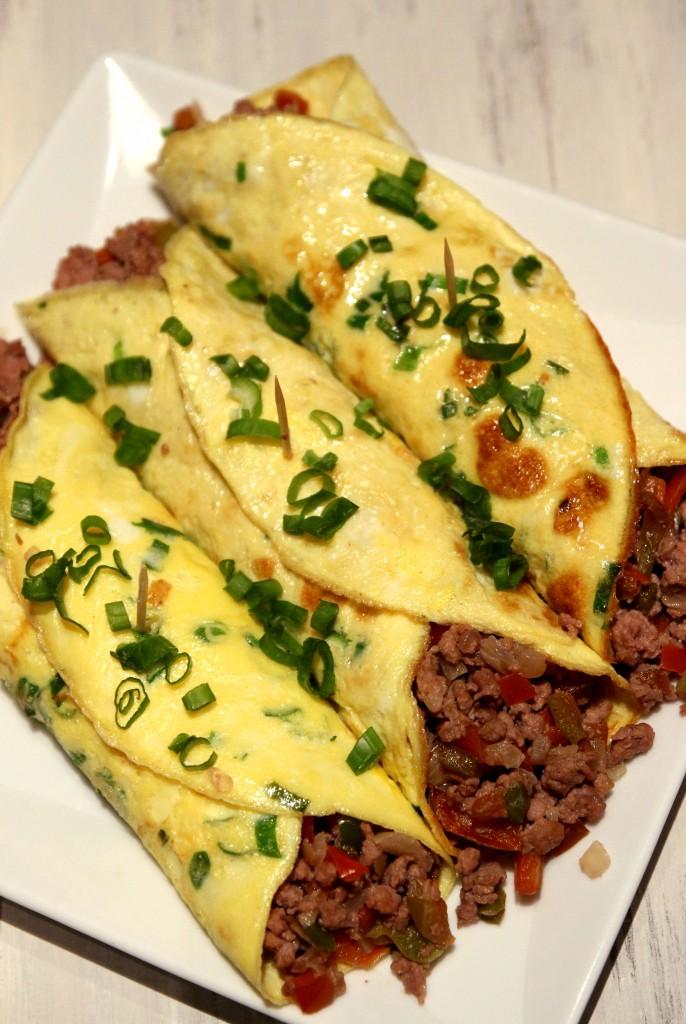 Minced Beef Egg Burritos5