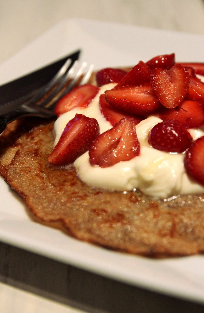Strawberries & Cream Quinoa Dessert Crepes5