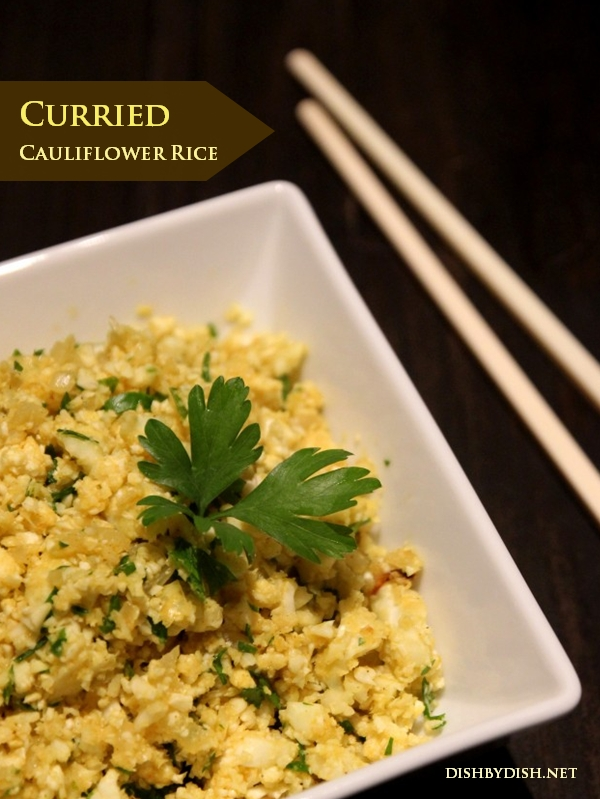 Curried Cauliflower Rice + Feed a Child, Nourish a Mind - Dish by Dish
