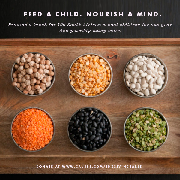 Feed a Child, Nourish a Mind