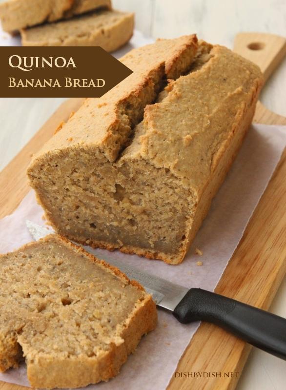 Quinoa Banana Bread