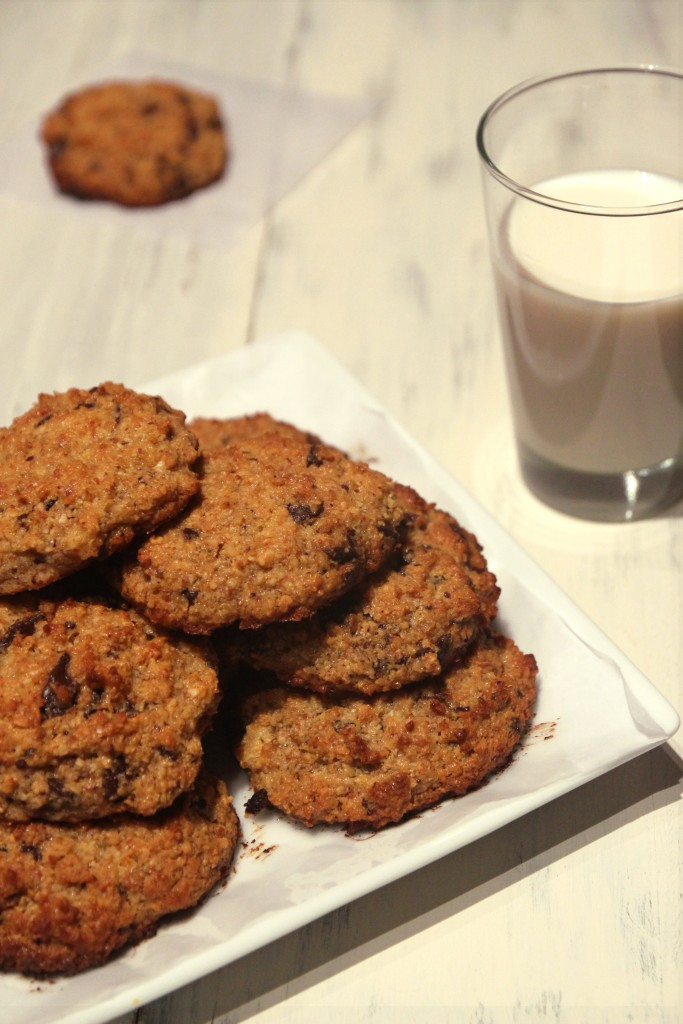 Chocolate Coconut Quinoa Cookies