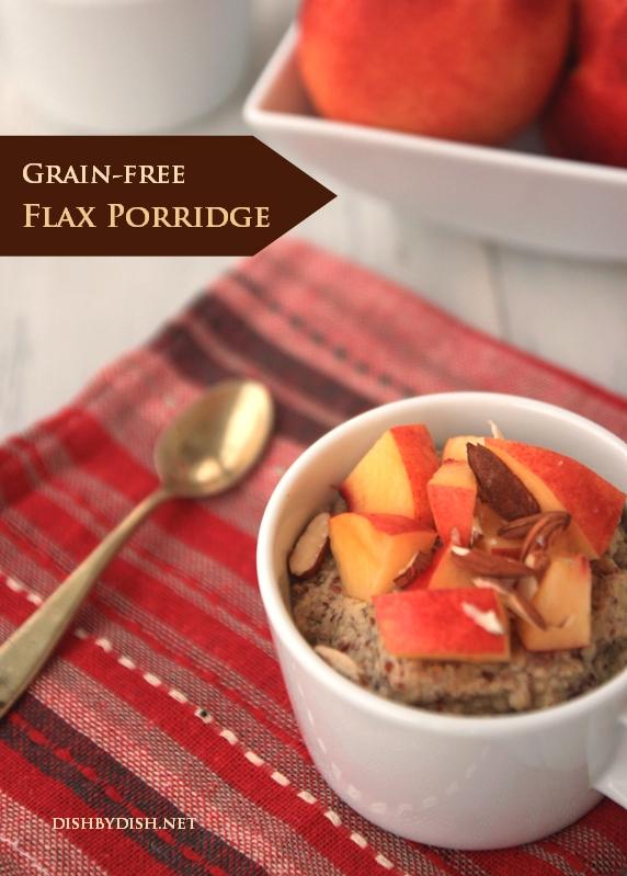 Grain-free Flax Breakfast Porridge