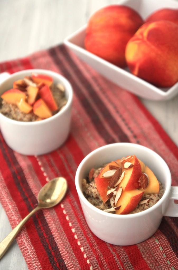 Grain-free Flaxmeal Breakfast Porridge