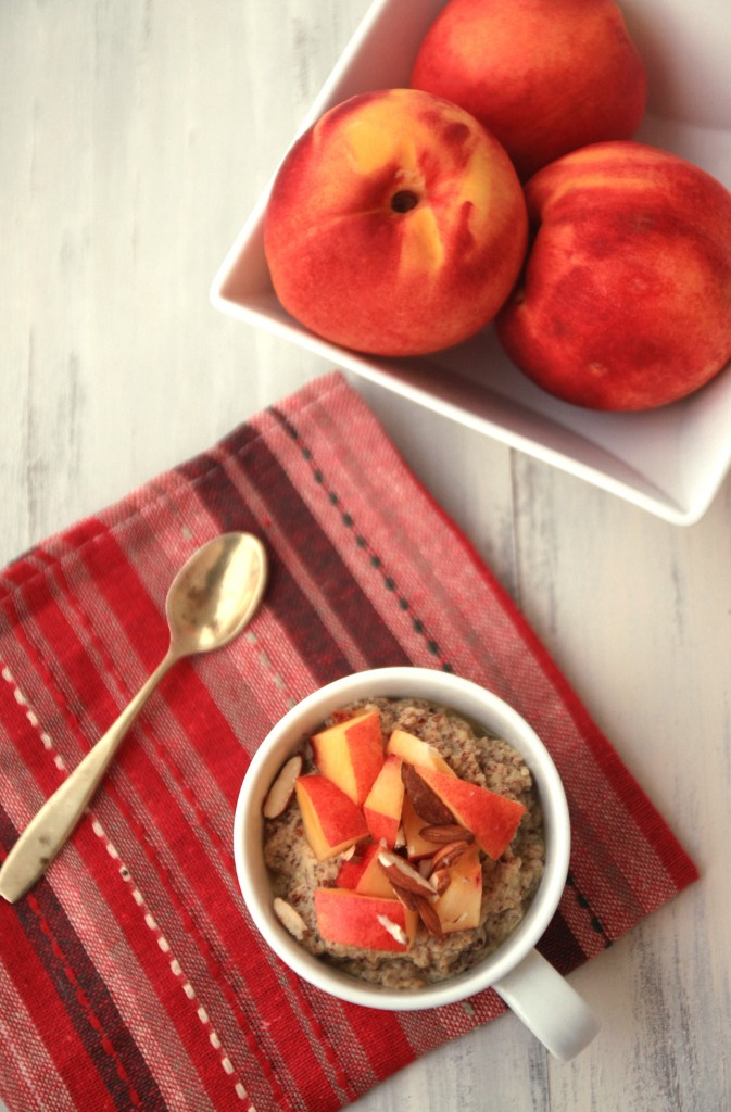 Grain-free Flaxmeal Breakfast Porridge