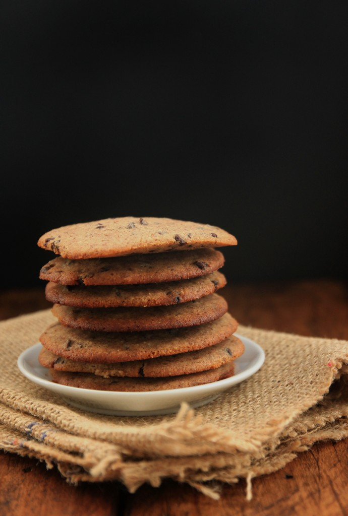 Grain-free Hazelnut Chocolate Chip Cookies