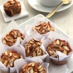 Grain-free Honey Almond Muffins