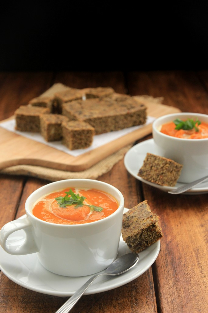 Butternut Squash Garlic Soup