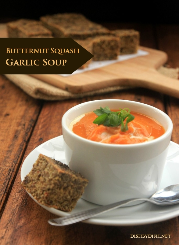 Butternut Squash Garlic Soup