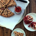 Grain-free Pomegranate Coconut Scones + Celebrating 2 years!