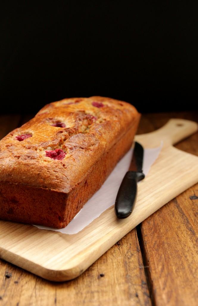 Grain-free Raspberry Almond Bread + Giving thanks - Dish by Dish