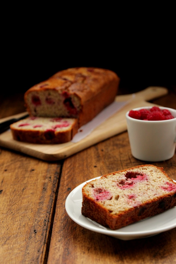 Grain-free Raspberry Almond Bread + Giving thanks - Dish by Dish