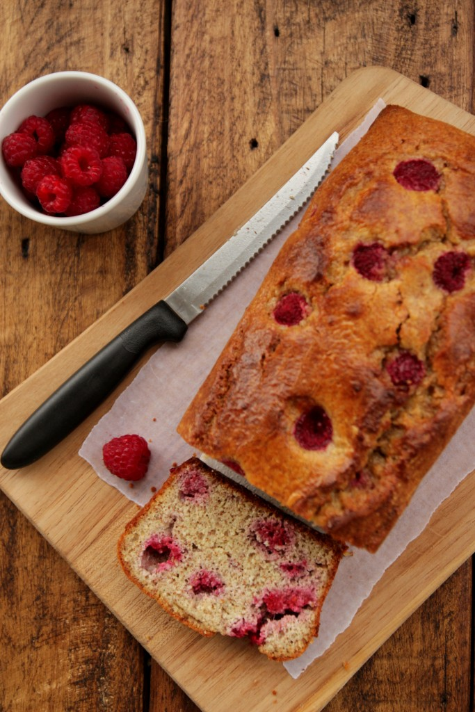 Grain-free Raspberry Almond Bread