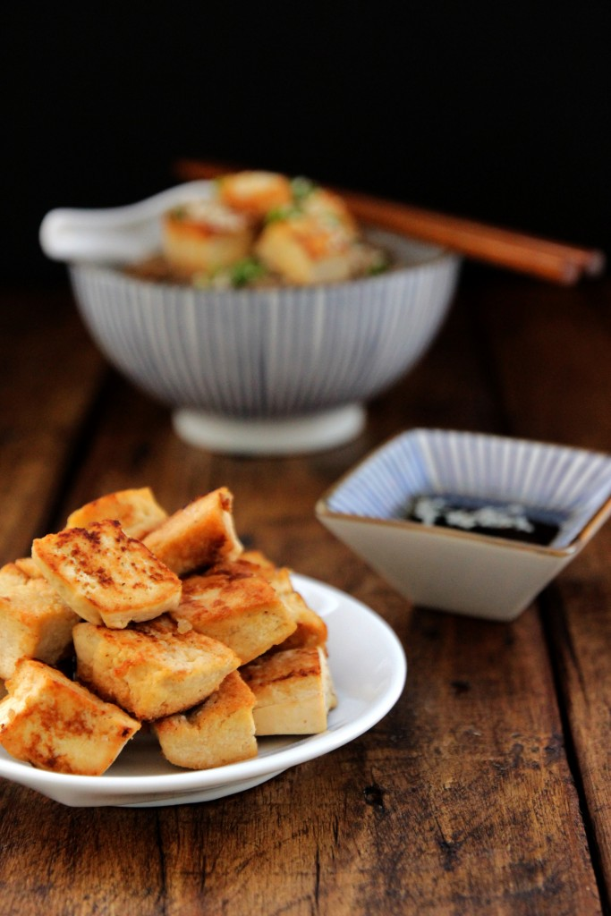 Pan-fried Tofu & Soba Salad