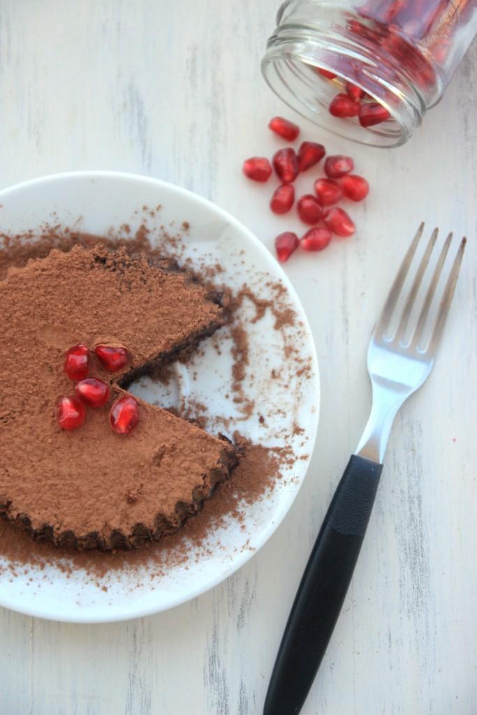 Raw Chocolate Nut Tartelettes