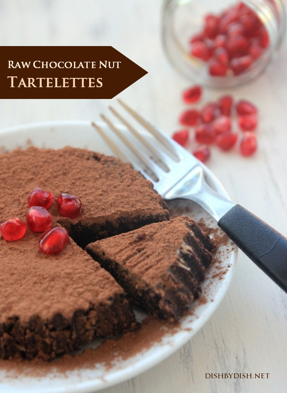 Raw Chocolate Nut Tartelettes
