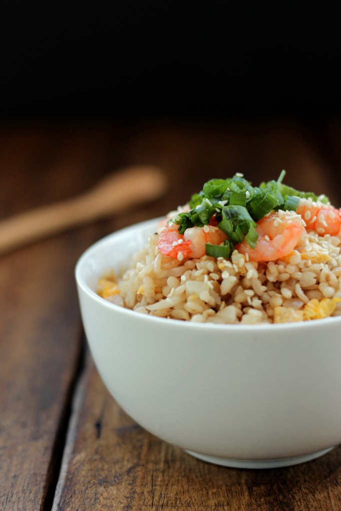 Ginger Shrimp Fried Rice