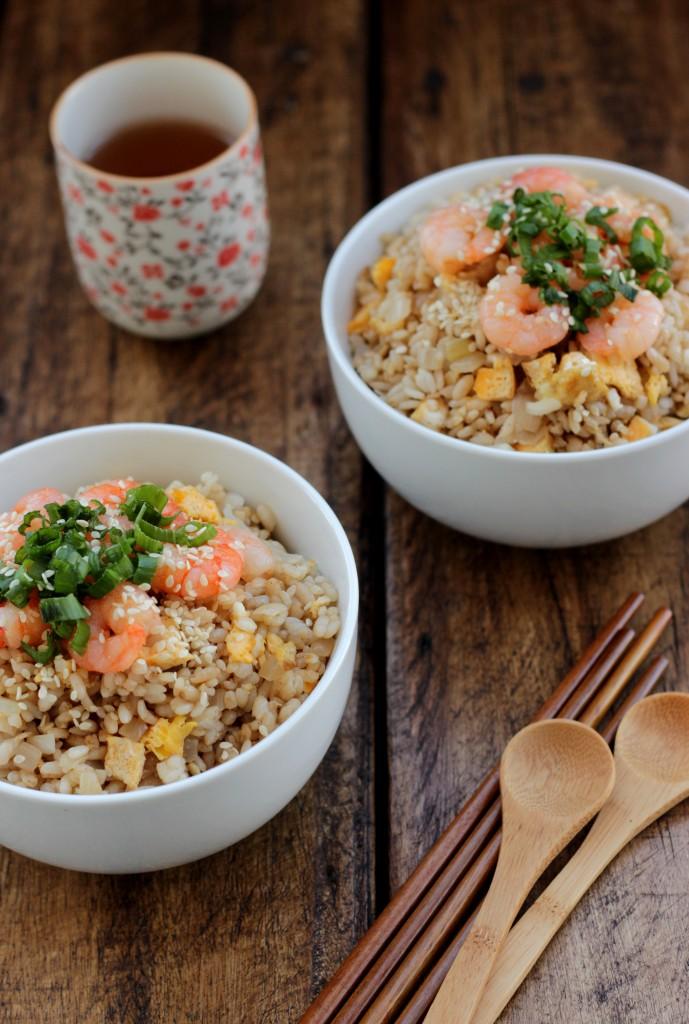 Ginger Shrimp Fried Rice