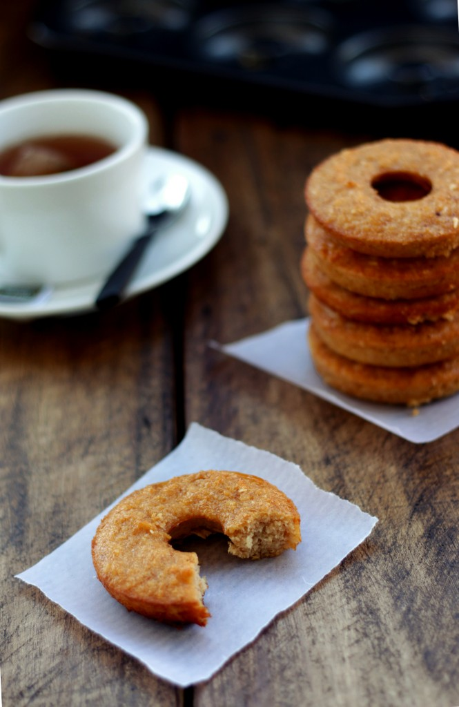 Grain-free Apple Cider Vinegar Doughnuts - Dish by Dish