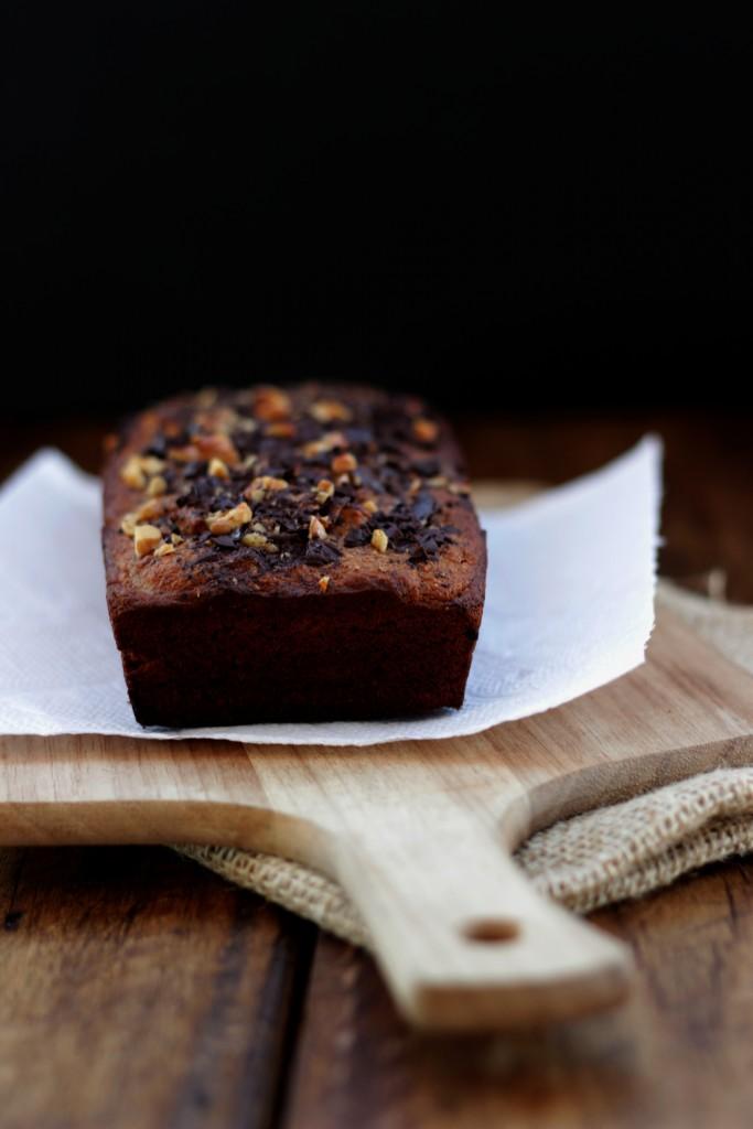 Grain-free Chocolate Banana Bread